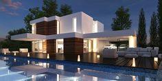 Casas Modernas | Planos, Proyectos y Construccion de Casas | Mera