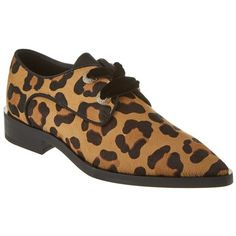 Lanvin Lanvin Haircalf Derby Loafer (405596801) ($1,415) ❤ liked on Polyvore featuring shoes, loafers, natural, leopard calf hair shoes, lanvin, laced up shoes, pony hair loafers and leopard print calf hair shoes