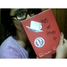 New book: Why We Broke Up by Daniel Handler. Weighs like a brick and feels are as heavy as a brick too.