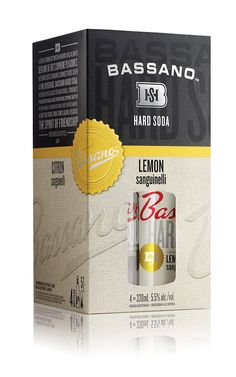 Bassano Hard Soda on Packaging of the World - Creative Package Design Gallery