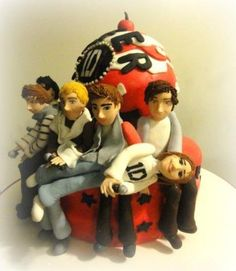 ONE DIRECTION CAKE Cake by lapasticceriaperu