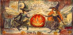 """""""Halloween Fairy Stories"""" A book of Halloween fairy stories would be the best! Copyright John Randall York"""