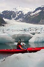 Stock Photo of the Kayaking in Pedersen Lagoon, Kenai Fjords National Park, Alaska Canoe And Kayak, Kayak Fishing, Sport Fishing, Fishing Tips, Kayaks, Alaska Salmon Fishing, Kenai Fjords, Kayak Adventures, Outdoor Adventures