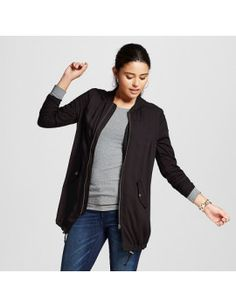 womens-tunic-bomber-jacket---xhilaration™-(juniors) by target. #fashiontrend #dresses #outfit #gorgeous #shoptagr