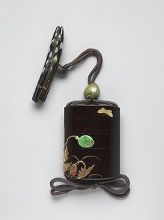 Case (Inrō) with Design of Poppies | Japan | Edo period (1615–1868) | The Met