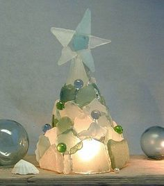 sea glass tree - mom would love this!