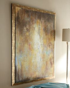 """Love the look and colors....and of course, the name.      """"Golden Goddess"""" Giclee at Horchow."""