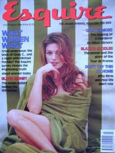 Found on Bing from www.crazyaboutmagazines.com Amy Locane, Chicago Magazine, Rupert Murdoch, Old Newspaper, Cindy Crawford, Vintage Knitting, Esquire, Supermodels, Cover