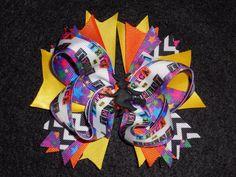 Halloween Trick or Treat Boutique Hair Bow and headband Girls handmade #Halloween