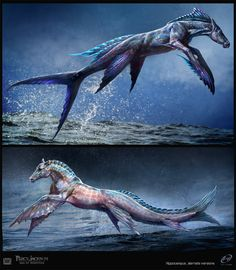 Hippocampus design for the movie Percy Jackson:Sea of Monsters by Sebastian Meyer.