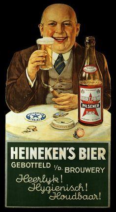 Heineken's Bier - Heerlyk! Hygienisch! Houdbaar!