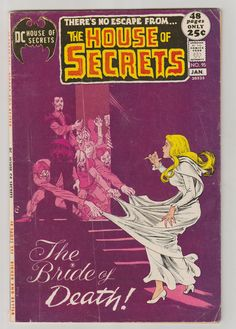 House of Secrets Vol 1 95 Bronze Age Comic by RubbersuitStudios #houseofsecrets #horrorcomics #comicbooks