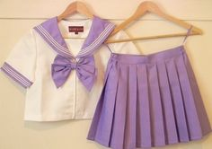 kawaii cute sailor uniform purple cosplay schoolgirl school girl japan japanese fashion