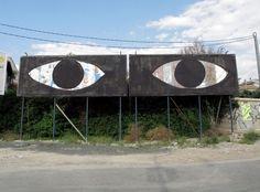 Sam3, Billboards in Murcia, Spain - unurth | street art