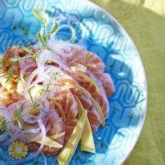 Ceviche de saumon de Flora Mikula