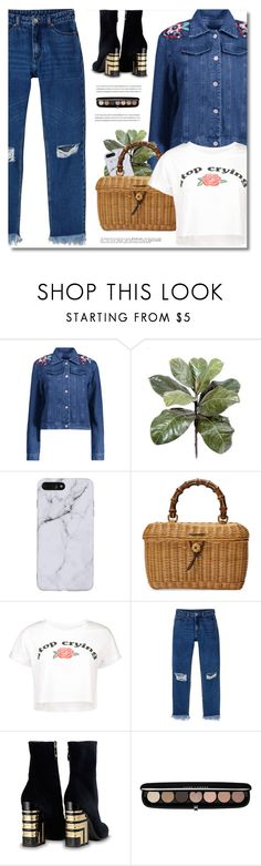 """""""Tourism"""" by defivirda ❤ liked on Polyvore featuring Gucci, Monki and Marc Jacobs"""