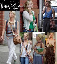 Nina Proudman - Offspring Offspring Tv Show, Hippie Bohemian, Bohemian Style, Boho Chic, Hippy Style, Skinny Scarves, Retro Fashion, Boho Fashion, Fashion Outfits