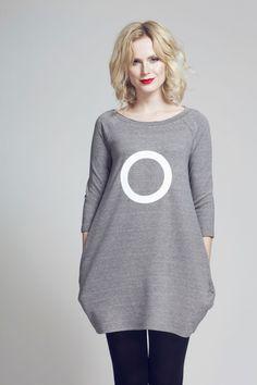 FNDLK mikinošaty 73 BRqK_dark-grey_bambus Fashion Labels, Dark Grey, Sweatshirts, My Style, Sweaters, Bamboo, Pullover, Sweater, Plush