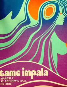 tame impala music gig posters                                                                                                                                                                                 Mehr