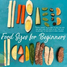 For the mamas who are beginning BLW (baby led weaning), here are the food sizes and shapes for… – romanesque-briefing Baby Led Weaning 7 Months, Baby Led Weaning First Foods, Weaning Foods, Baby First Foods, Baby Weaning, Baby Finger Foods, Weaning Toddler, Pureed Food Recipes, Baby Food Recipes