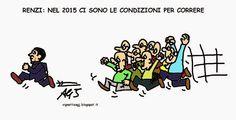 Ottimismo di Renzi per il 2015