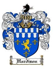 Hardison Coat of Arms / Family Crest from www.4crests.com