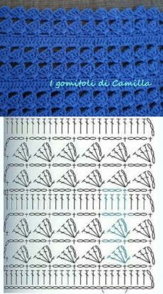Free crochet pattern pattern is for a sweater but can use the general stitch for other projects salvabrani – artofit – Artofit Irish lace, crochet, crochet patterns, clothing and decorations for the house, crocheted. Tutorial: Crochet chart reading Ex Gilet Crochet, Crochet Motifs, Crochet Diagram, Crochet Stitches Patterns, Crochet Chart, Crochet Designs, Free Crochet, Stitch Patterns, Knitting Patterns
