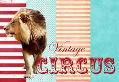 Party Box Design: Vintage Circus...