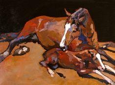 """New Arrival"" - Originals - All Artwork - Peggy Judy   Fine Art World"