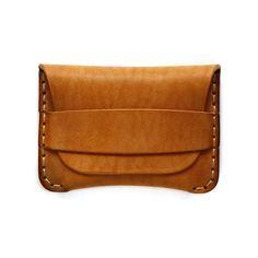 Classic Flap Wallet in Vegetable Tan