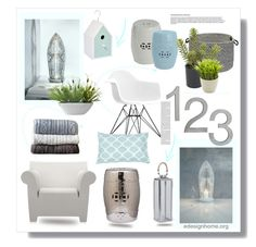"""""""Bring the Outdoors In"""" by efashiondiva7 ❤ liked on Polyvore featuring interior, interiors, interior design, home, home decor, interior decorating, Skandium, CB2, Colonial Mills and Nearly Natural"""