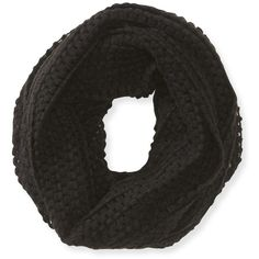 Aeropostale Open-Knit Infinity Scarf (205 ARS) ❤ liked on Polyvore featuring accessories, scarves, accessories - scarves, fillers, black, lightweight infinity scarf, lightweight infinity scarves, aeropostale scarves, colorful infinity scarves and round scarf
