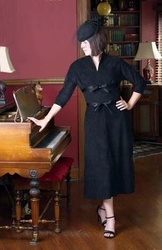 Paper sewing pattern to make a flattering dress with kimono sleeves and ties at both the empire and natural waistline. Condition This is a brand new and unused