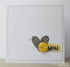 CASADIA: Really Love You card by Joscelyne Cutchens