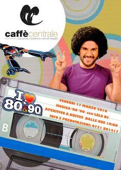 Al Caffè Centrale l'11 marzo l'aperitivo-nostalgia anni '80-'90 è stato realizzato coinvolgendo le persone con gadget, foto e premi.  #evento #Fano #caffècentrale