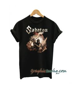 Sabaton The Last Stand tee shirt for adult men and women. This t-shirt is everything you've dreamed of and more. Great T Shirts, T Shirts For Women, Funny America Shirts, Buy Shirts, Tee Shirt Designs, Couple Shirts, Shirt Price, My T Shirt, Cool Tees