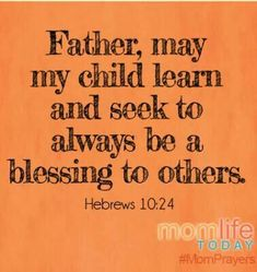 Bless others