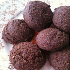Galletas energéticas de algarroba, semillas y naranja. Súper sanas y #glutenfree #vegan #recetas #cookies