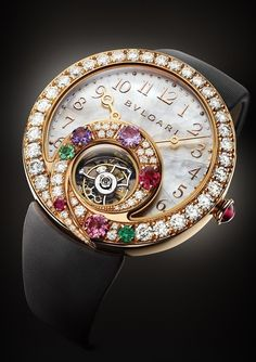 Bulgari - Being Impressed By Bulgari's New Female Watch Complications