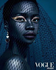 """""""Vogue Arabia always shitting on the other ones. This is stunning Vogue US need to catch up because this is art"""" Editorial Photography, Portrait Photography, Fashion Photography, Glamour Photography, Lifestyle Photography, Black Photography, Futuristic Party, Foto Fantasy, Art Afro"""