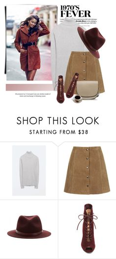 """""""Paris Street Style"""" by genuine-people ❤ liked on Polyvore featuring rag & bone and Gianvito Rossi"""