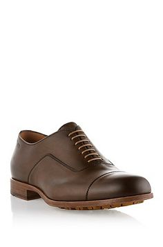 Lace-up shoe 'Jornio' in tumbled leather by BOSS