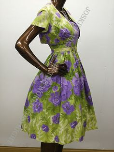 vintage kitsch 1950s 50s bright beautifull  by vintageretroworld, £70.00