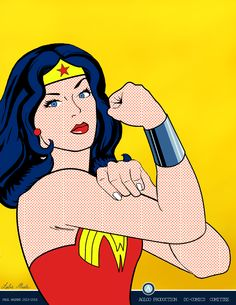 We can do it (Wonder Woman) by Agloo on deviantART
