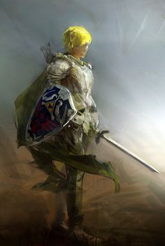 this would be a really cool concept for Link.