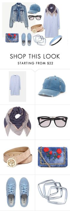 """""""LOOK DEL DIA"""" by aliciagorostiza on Polyvore featuring moda, Piel Leather, Mudd, BeckSöndergaard, Balmain, GUESS, Boohoo, GUESS by Marciano y Alexis Bittar"""