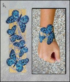 Scheme - Бисер и бижутерия - Bead Loom Patterns, Beaded Jewelry Patterns, Bracelet Patterns, Beading Patterns, Seed Bead Jewelry, Bead Jewellery, Beading Projects, Beading Tutorials, Diy Jewelry