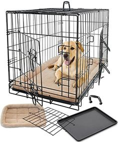 182 Best Dog Crates Houses Pens Images Dog Crates Big Dogs