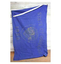 Vintage Oregon Flag by AuroraMills on Etsy, $20.00