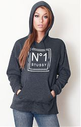 Stussy, Number One Pullover Hoodie at MLTD.com, MOOSE Limited